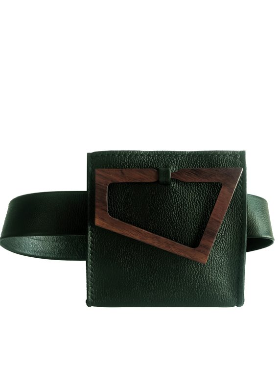 belt bag green