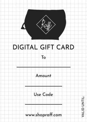 Raff Gift Card